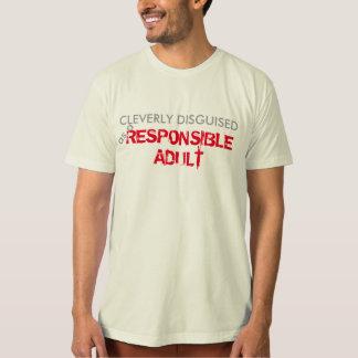cleverly förställd rolig t-skjorta design tee shirts