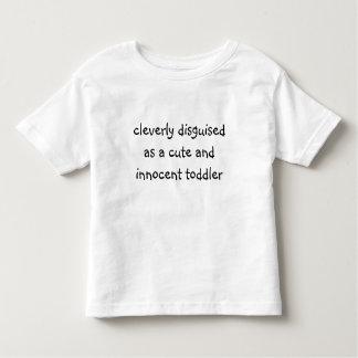 cleverly förställd småbarnt-skjorta t-shirt