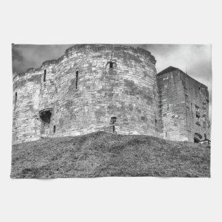 Cliffords torn i York historisk byggnad Kökshandduk