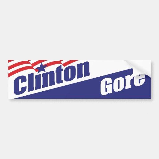 Clinton bildekal 1992