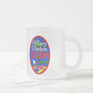 Clinton Guam 2016 mugg