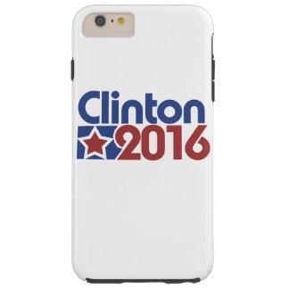 Clinton stjärnapolitik 2016 tough iPhone 6 plus fodral