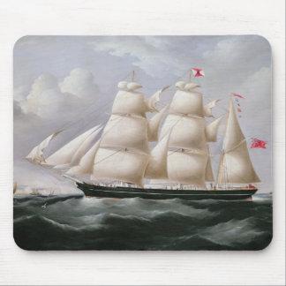 """ClipperBarque """"Procymatia"""" av Dover (olja på canv Musmatta"""