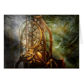 Clockmaker - dagtiden som fortfarande stås hälsningskort