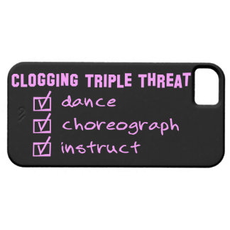 Clogger som stoppar till trefaldigt hot iPhone 5 cover