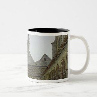 Cloisteren av Mont Sanktt-Michel Två-Tonad Mugg
