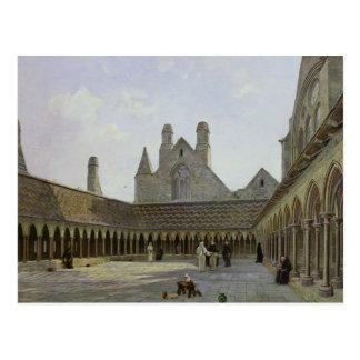 Cloisteren av Mont Sanktt-Michel Vykort