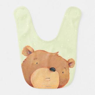 CloseUp av den stora bruna björnen Hakklapp