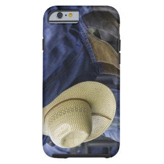 Closeup av kängor & hatten tough iPhone 6 fodral