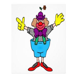 Clown Brevhuvud