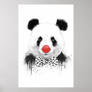 Clown panda posters
