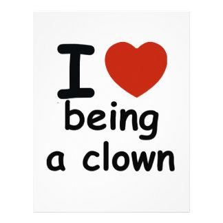 clowndesign brevhuvud