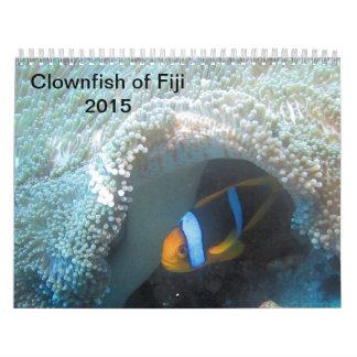 Clownfish av den Fiji 2015 kalendern Kalender