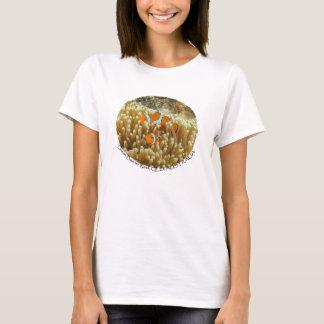 Clownfish kvinna skjorta för T Tröjor