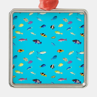 Clownfish och TangsScatter Julgransprydnad Metall