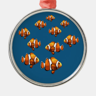 Clownfisk Julgransprydnad Metall