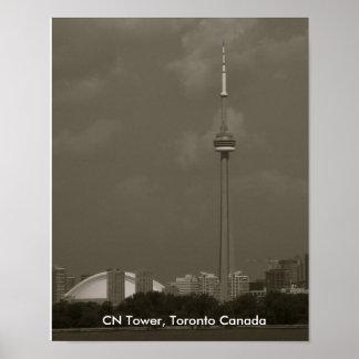 Cn-torn, Toronto Kanada Poster