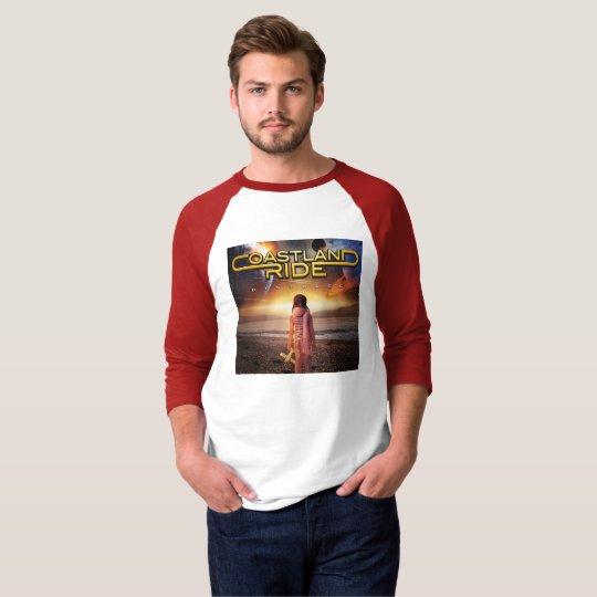 Coastland Ride - Distance cd-cover T-shirt