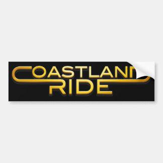 Coastland Ride - Name logo Bildekal