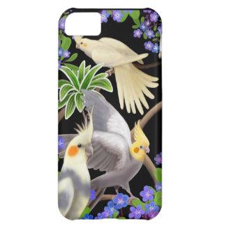 Cockatiels glömmer in mig den Nots iphone case iPhone 5C Fodral