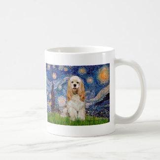 Cockerspaniel (fantast) - Starry natt Kaffemugg