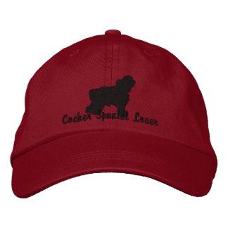 CockerspanielSpanielälskare - broderad hatt Broderad Keps