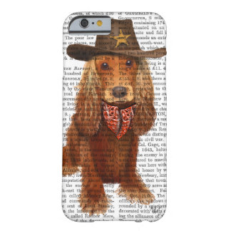 CockerspanielSpanielCowboy 2 Barely There iPhone 6 Skal