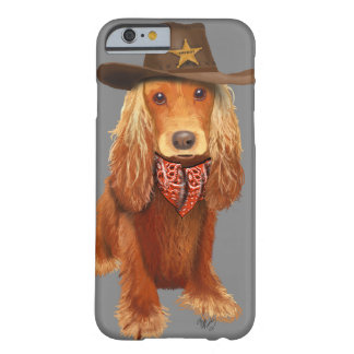 CockerspanielSpanielCowboy Barely There iPhone 6 Skal
