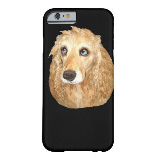 Cockerspanielspanielprodukter Barely There iPhone 6 Skal