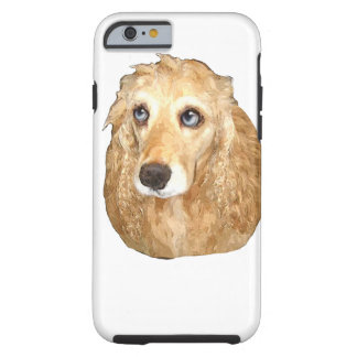 Cockerspanielspanielprodukter Tough iPhone 6 Fodral