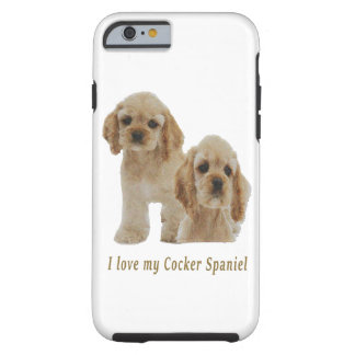 Cockerspanielspanielsprodukter Tough iPhone 6 Fodral