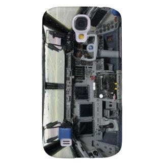 Cockpit för rymdfärjaSim flygplan Galaxy S4 Fodral