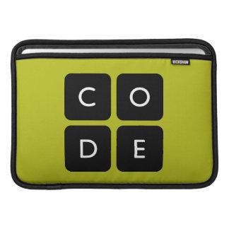 Code.org logotyp MacBook sleeves