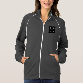 Code.org logotyp jackor med tryck