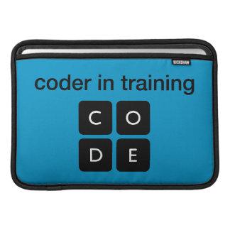 Coder i utbildning sleeves för MacBook air