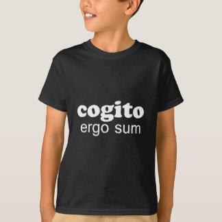Cogito ergo summa t shirts