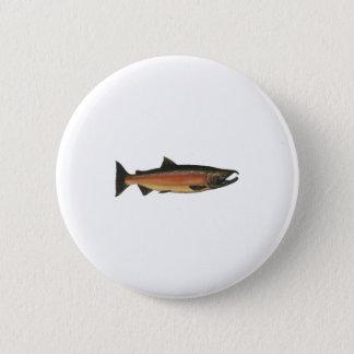 Coho - silverlax (leken arrangerar gradvis), standard knapp rund 5.7 cm