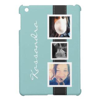 Collage för höftInstagram foto 3 foto och namn iPad Mini Fodral