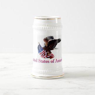 Collectible mugg - amerikanska flaggan och örn