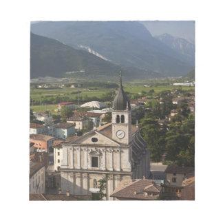 College- kyrka i morgon, Arco, Trento Anteckningsblock