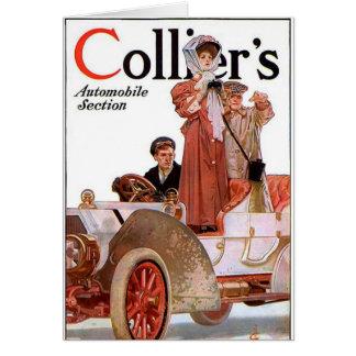 Colliers 1907 - J.C. Leyendecker, illustratör Hälsningskort