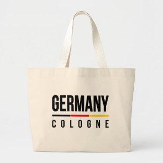 Cologne Tyskland Jumbo Tygkasse