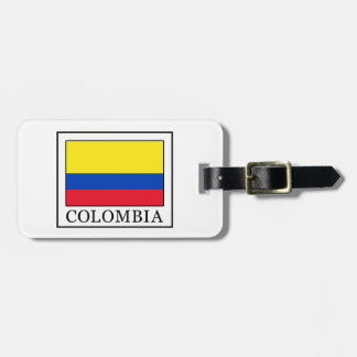Colombia Bagage Etiketter