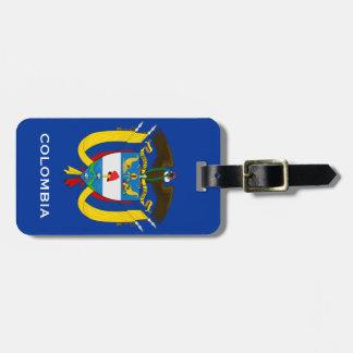 COLOMBIA*-bagagemärkre Luggage Tags