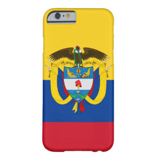 colombia emblem barely there iPhone 6 fodral