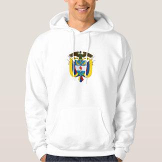 colombia emblem hoodie