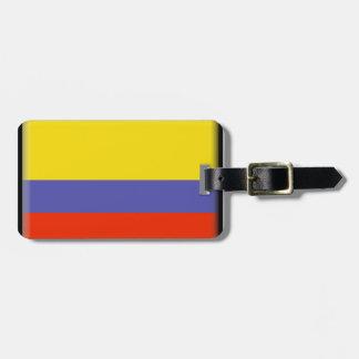 Colombia flagga bagage lappar