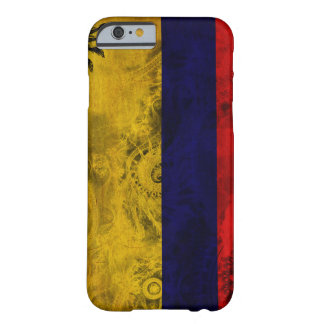 Colombia flagga barely there iPhone 6 skal