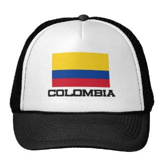 Colombia flagga keps