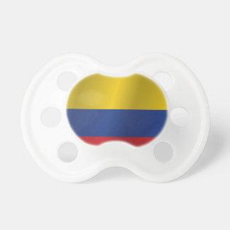 Colombia flagga napp